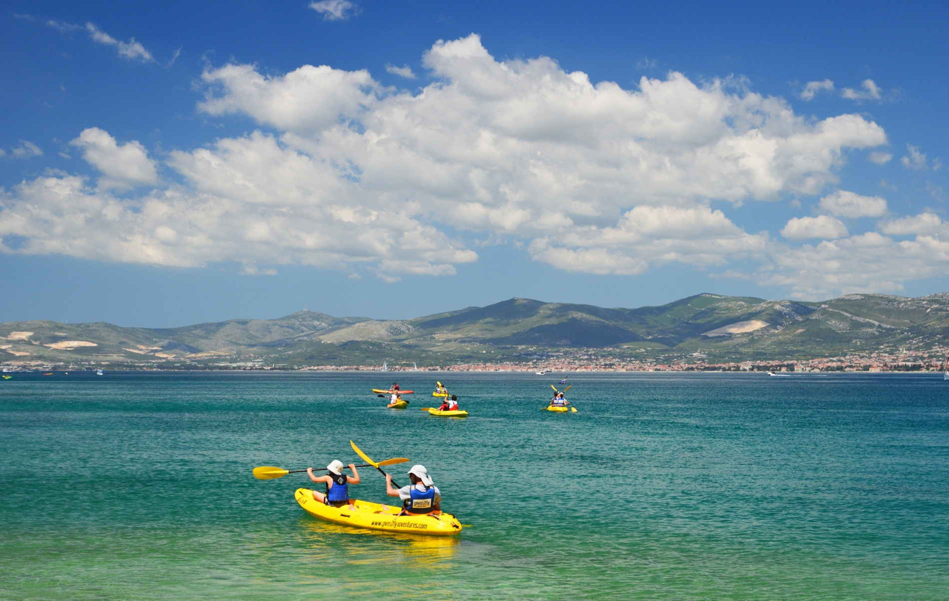 SEA KAYAKINGS SPLIT CROATIA